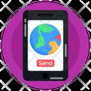 Send Location Icon