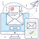 Send Mail Email Electronic Mail Icon
