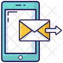 Mobile Communication Send Mail Mobile Mail Icon
