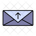 Send Mail Sent Mail Faster Delivery Icon