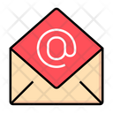 Address Send Mail Marketing Icon