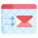Web Send Mail Send Email Icon