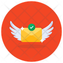 Send Mail Flying Mail Mail Envelope Icon