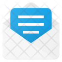 Send Document Mail Icon