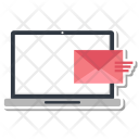 Laptop Letter Mail Icon