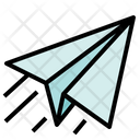 Miscellaneous Origami Airplane Icon
