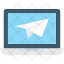 Send Message Screen Icon