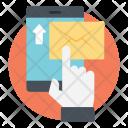 Send Message Mobile Icon