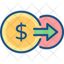Flow Money Transfer Icon