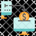Send Money Online Icon