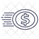 Coin Dollar Business Icon