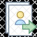 Send user list Icon