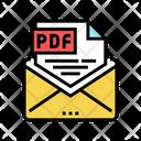 Sending Pdf File Icon