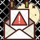 Sending Mail Error Sending Mail Error Icon