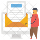 Sending Mail Email Electronic Mail Icon