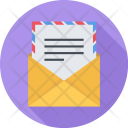 Sending Of Emails Icon
