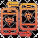 Sending Wifi Sharing Icon