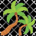 Senegal Beach Date Icon