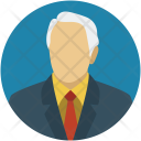 Senior Citizen Avatar Icon