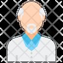 Senior Citizen Old Man Old Icon