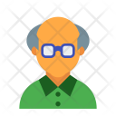 Senior Old Man Icon