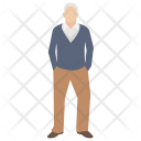 Old Man Grandfather Icon