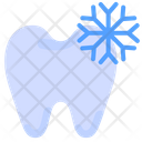 Cold Reaction Tooth Pain Icon