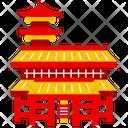 Senso Ji Temple Tokyo City Icon