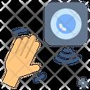 Sensor Technology Gesture Icon