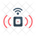 Sensor Security Safety Icon