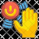 Sensor Motion Move Icon