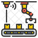 Sensor Automation Smart Industry Icon