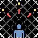 Sensory Tracking Technology Icon