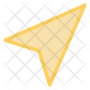 Sent Direction Navigation Icon