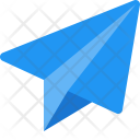Paper Plane Email Icon