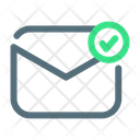 Sent Mail Sent Email Check Mail Icon