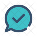 Message Chat Success Icon
