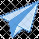 Sent Message Send Paper Plane Icon
