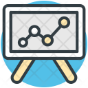 Seo Training Projection Icon