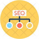 Seo Hierarchy Nodes Icon