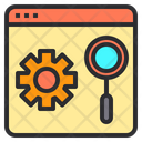 Seo Search Research Icon