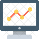 Seo Graph Line Icon