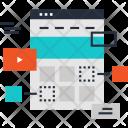 Seo Webpage Layout Icon