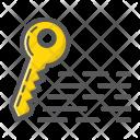 Seo Keyword Key Icon