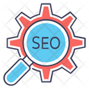 Options Search Seo Lupe Icon