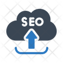 Seo Upload Cloud Icon