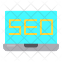 Labtop Desktop Seo Icon