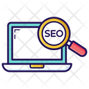 Seo Search Engine Optimization Seo Analysis Icon