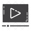 Seo Video Marketing Icon