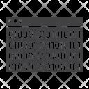 Seo Custom Coding Icon
